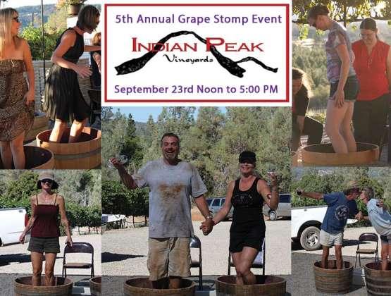 5th Annual Grape Stomp – Indian Peak Vineyards Winery