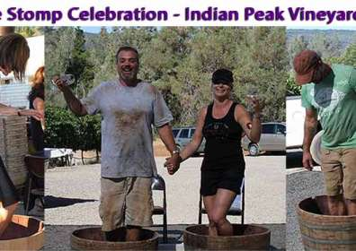 Press Release – Indian Peak Celebrates 5th Annual Grape Stomp Event