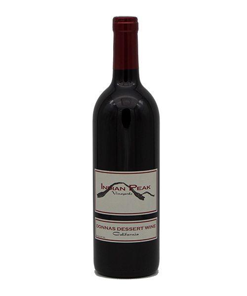 Donna's Dessert Wine, Indian Peak Vineyards, Manton Valley AVA, Manton, CA 96059