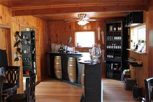 Graeagle Wine Tasting Room for Indian Peak Vineyards at Graeagle, California, 96103.